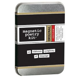 Magnetic Poetry Original tin