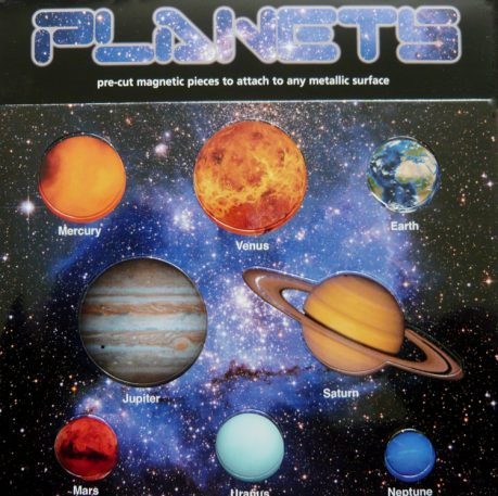 Planets magnets