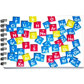Periodic Table Notebook Front Cover
