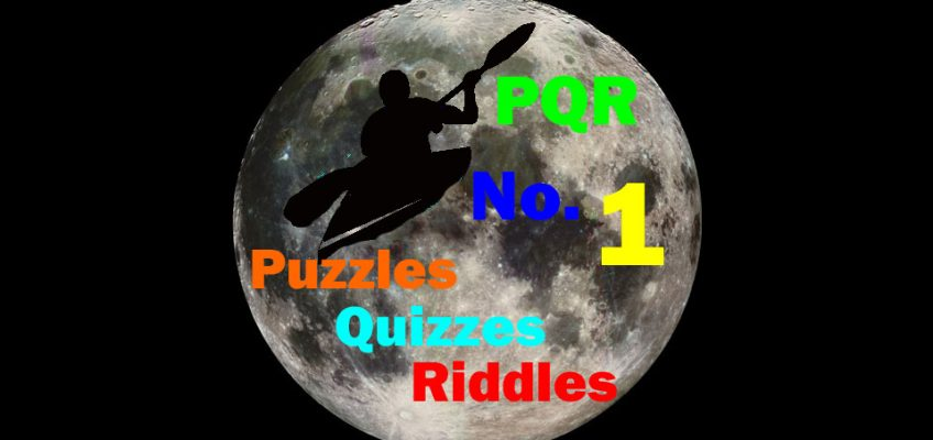 Puzzles, Quizzes, Riddles, No. 1 on moon background