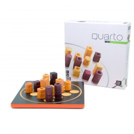 Quarto board game and box