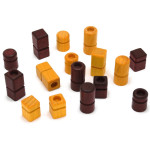 Wooden Quarto pieces