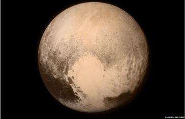 Pluto from New Horizons spacecraft July 13, 2015