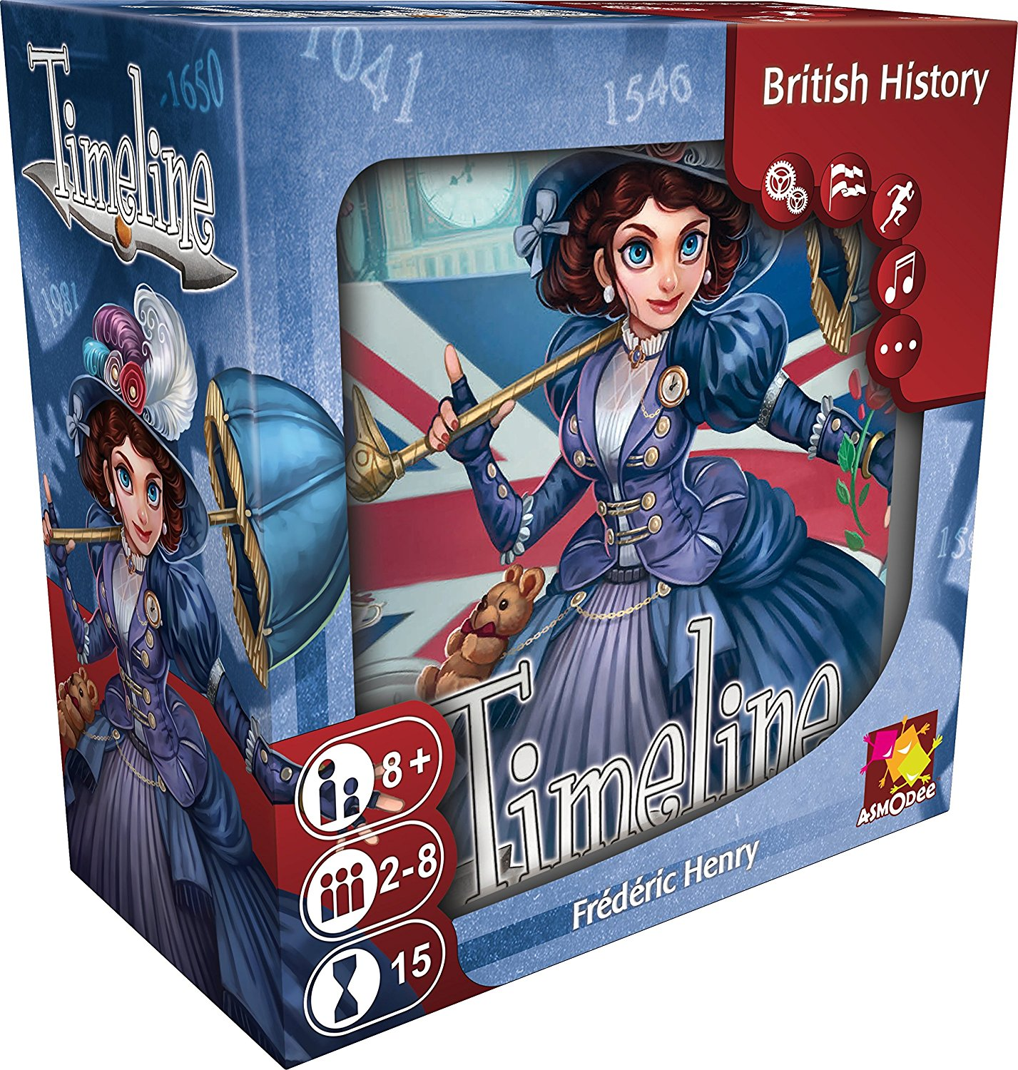 Timeline British History Card Game Boxed