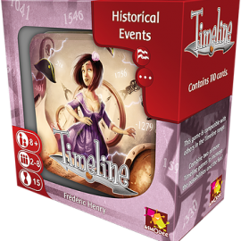 Timeline Historical Events card game boxed