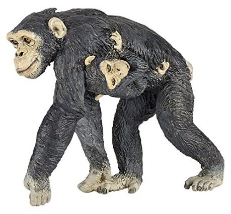 Papo - Chimpanzee and baby