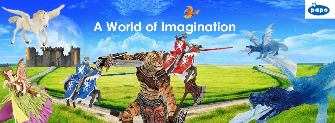 A World of Imagination with Papo Fantasy figures