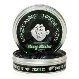 Crazy Aaron's Thinking Putty Strange Attractor in tin