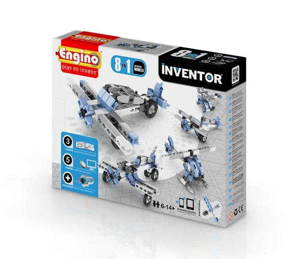 Engino Inventor 8 in 1 Aircraft model