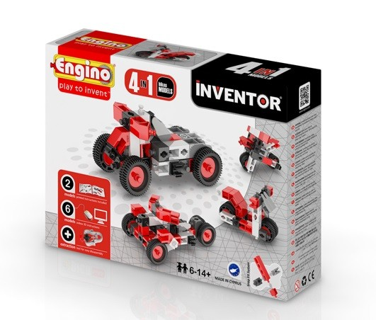 Engino 4 in 1 Inventor Bikes