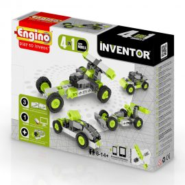 Engino Inventor 4 in 1 model cars