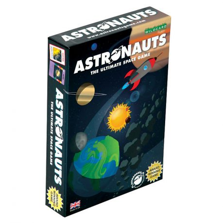 Astronauts Card Game Cover