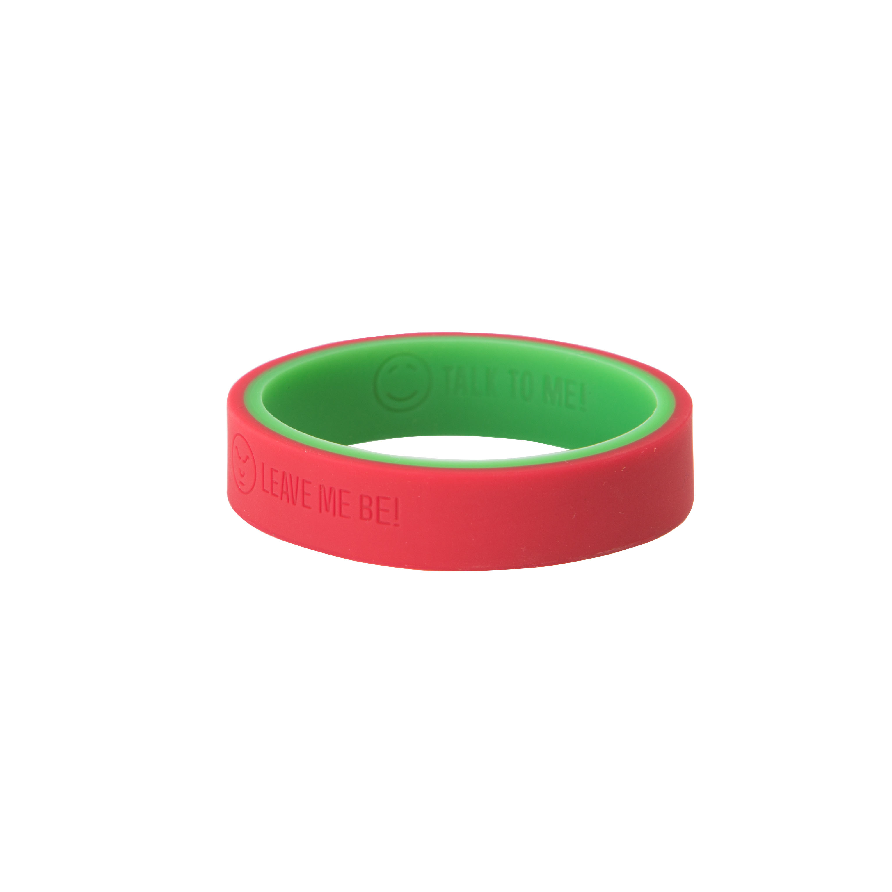 Emotichew bangle green-red