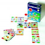 Mapominoes Europe box and cards