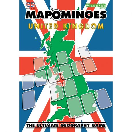 Mapominoes UK Front Box