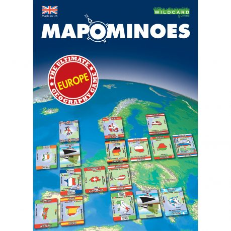 Mapominoes Europe front of box
