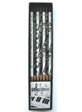 Music Boxed Pencil and Eraser Set