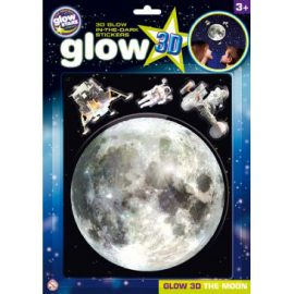 Glow 3D The Moon