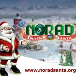 2017 Advent Calendar of Fascinating Websites – Day 24 – Track Santa