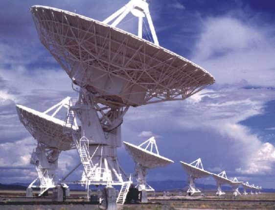 VLA - Very Large Array, New Mexico Radio Telescopes