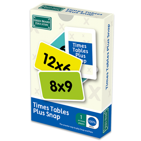 Times Tables Plus Snap Box