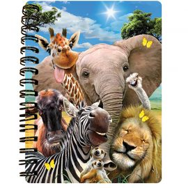 Africa Selfie by Howard Robinson 3D notebook - Kidicraft
