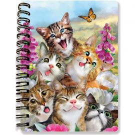 Howard Robinson's Cat Selfie 3D Notebook - Kiddicraft
