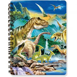 Howard Robinson's Dino Valley 3D Notebook - Kidicraft