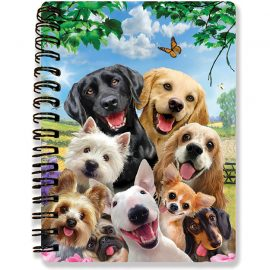 Howard Robinson's Dog Selfie 3D Notebook - Kiddicraft