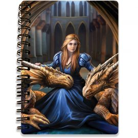 Anne Stokes Fierce Loyalty 3D notebook - Kidicraft