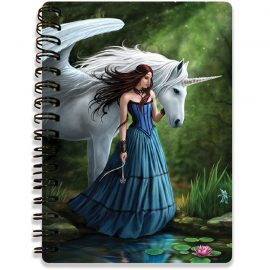 Anne Stokes Pool of Enchantment 3d notebook