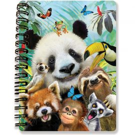 Howard Robinson's Zoo Selfie 3D Notebook - Kiddicraft
