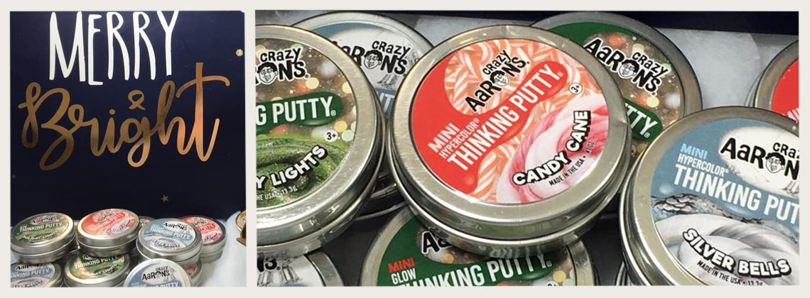 Crazy Aaron's Thinking Putty Christmas 2019