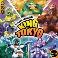 King of Tokyo Boardgame Box