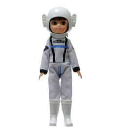 Lottie Doll dressed in Astronaut outfit