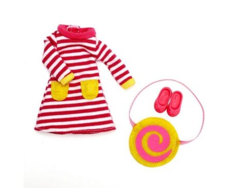 Lottie Raspberry Ripple Outfit Set