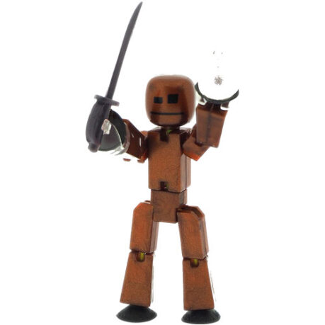 Stikbot with weapons